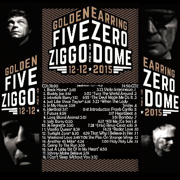 golden earring live 2015 five zero ziggo dome. Black Bedroom Furniture Sets. Home Design Ideas